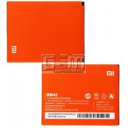 Аккумулятор (BM45) для Xiaomi Redmi Note 2, Емкость 3000 мАч Li-Ion