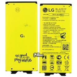 Аккумулятор (акб) BL-42D1F для LG G5 H820, G5 H830, G5 H850, G5 LS992, G5 US992, G5 VS987, Li-ion, 3,85 B, 2800 мАч