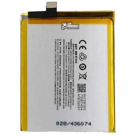 Аккумулятор (акб) BT45A для Meizu Pro 5, (Li-Polymer 3.8V 3050 мАч)
