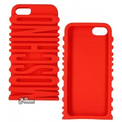 Чехол 3D Moschino Letter для Apple iPhone 5/5S mix color