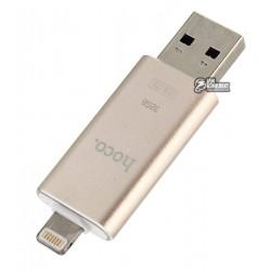 USB Flash Disk Hoco UD2 (MFI) lightning золотой 32GB