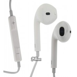 Наушники Hoco Apple Earpods M1, белый