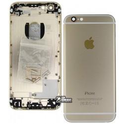 Корпус для Apple iPhone 6, золотистый