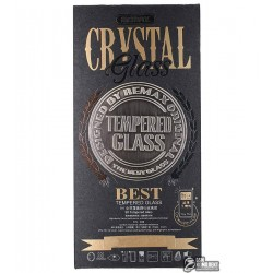 Закаленное защитное стекло+чехолвкомплектеRemaxCrystal 2в1для iPhone5/5S