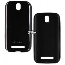 Силиконовый чехол Melkco для HTC Desire SV T326e, черный