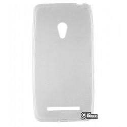 Чехол силиконовый для Asus ZenFon 5, белый