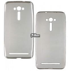 Чехол силиконовый для Asus ZenFon 2 Laser 5.5, черный