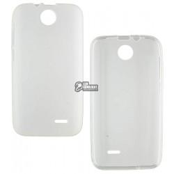 Силиконовый чехол для HTC Desire 310, белый