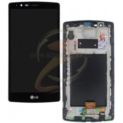 Дисплей для LG G4 F500, G4 H810, G4 H811, G4 H815, G4 H818N, G4 H818P, G4 LS991, G4 VS986, черный, с рамкой, с сенсорным экраном