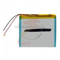 Аккумулятор универсальный (акб), для телефона, планшета, GPS, 85 мм, 100 мм, 3,4 мм, Li-ion, 3,7 В, 3000 мАч
