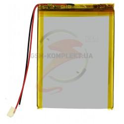 Аккумулятор универсальный (акб), для телефона, планшета, GPS, 85 мм, 64 мм, 4,8 мм, Li-ion, 3,7 В, 2600 мАч