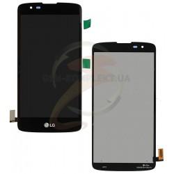 Дисплей для LG K8 K350E, K8 K350N, Phoenix 2, черный, с сенсорным экраном (дисплейный модуль),original (PRC)