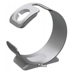 Док-станция LIVEER SinceTop для Apple Watch серебро