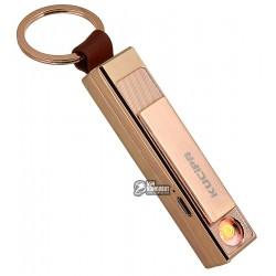 Зажигалка электроимпульсная Kupica KC05, золотая