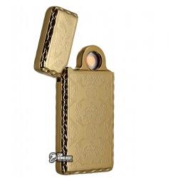 Зажигалка электроимпульсная Kupica KC01, золотая