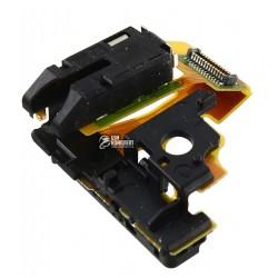 Шлейф для Sony C5502 M36h Xperia ZR, C5503 M36i Xperia ZR, з датчиком приближення, конектора навушників, з компонентами