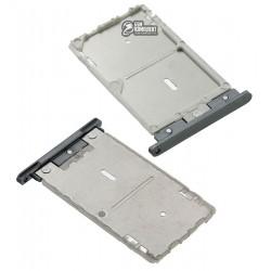 Держатель SIM-карты для Xiaomi Redmi Note 3, серый