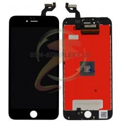 Дисплей iPhone 6S Plus, черный, с рамкой, с сенсорным экраном, copy