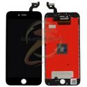 Дисплей iPhone 6S Plus, черный, с рамкой, с сенсорным экраном (дисплейный модуль), copy