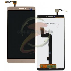 Дисплей для Xiaomi Mi Max, золотистый, с сенсорным экраном (дисплейный модуль),original (PRC)