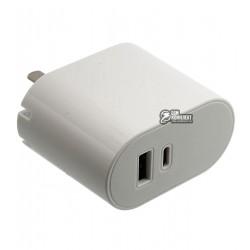 Сетевое зарядное устройство Yoobao Type-C+USB 2.1A