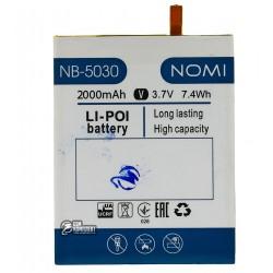 Аккумулятор (акб) для Nomi i5030 Evo X, Li-ion, 3,7 В, 2000 мАч, original
