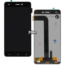 Дисплей для Nomi i5011 Evo M1, черный, с сенсорным экраном (дисплейный модуль),original, #15-22391-59664