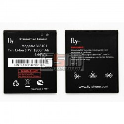 Аккумулятор (акб) BL8101 для Fly IQ455 Ego Art 2, (Li-ion 3.7V 1800mAh), original, #EAA00311011