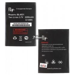 Аккумулятор (акб) BL4031 для Fly IQ4403 Energie 3, (Li-ion 3.8V 2200mAh), original, #200200307/200200267