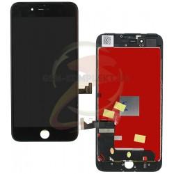 Дисплей iPhone 7 Plus, черный, с сенсорным экраном (дисплейный модуль),high-copy