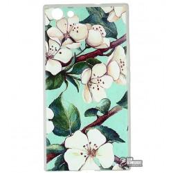 ЧехолнакладкадляDoogeeY300,срисунком,цветы