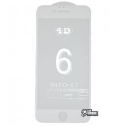 ЗакаленноезащитноестеклодляAppleiPhone6,iPhone6S4DHighQuality,0,3mm,белое
