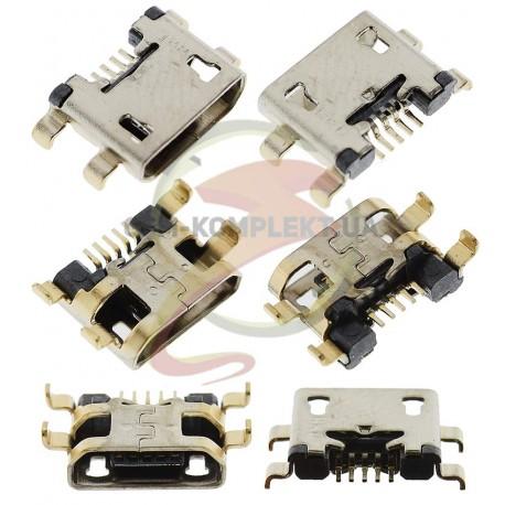 Коннектор зарядки для Fly IQ452 Quad, original, #TY012111Y7