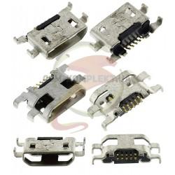 Коннектор зарядки для Motorola XT1062 Moto G2, XT1063 Moto G2, XT1064 Moto G2, XT1068 Moto G2 Lenovo A1000 Alcatel One Touch 401