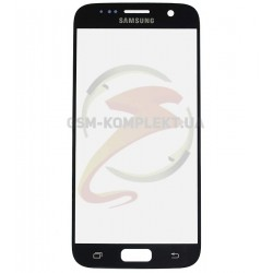 Стекло корпуса для Samsung G930F Galaxy S7, черное