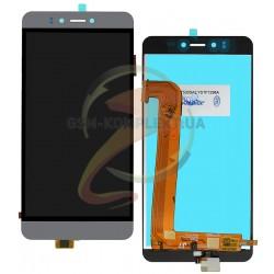 Дисплей для Prestigio MultiPhone 3531 Muze E3, MultiPhone 7530 Muze A7, MultiPhone PSP 3530 Muze D3, серый, с сенсорным экраном,