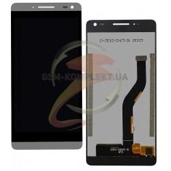 Дисплей для Nous NS 6, серый, с сенсорным экраном (дисплейный модуль),#5831001858/15-32402-53511