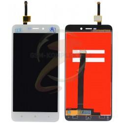 Дисплей для Xiaomi Redmi 4A, белый, с сенсорным экраном (дисплейный модуль),original (PRC)