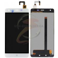 Дисплей для Ulefone Power 5.5, белый, с сенсорным экраном