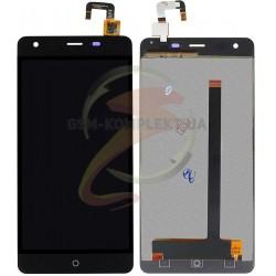 Дисплей для Ulefone Power 5.5, черный, с сенсорным экраном