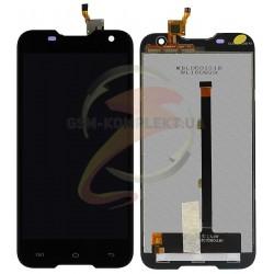 Дисплей для Blackview BV5000, черный, с сенсорным экраном