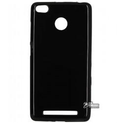 Чехол защитный для Xiaomi Redmi 3, силиконовый, черный