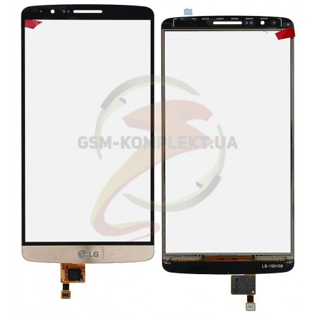 Тачскрин для LG G3 D855, золотистый