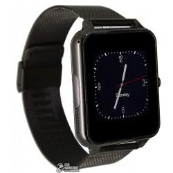 Смарт часы Smart Watch Z60, железный ремешок, серебро