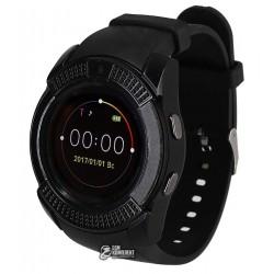 Смарт часы Smart Watch V8, черные