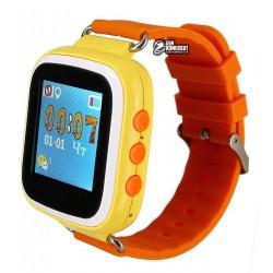 ДетскиечасыSmartBabyWatchQ801,44'OLEDсGPSтрекером,оранжевые