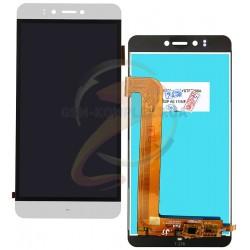 Дисплей для Prestigio MultiPhone 3531 Muze E3, MultiPhone 7530 Muze A7, MultiPhone PSP 3530 Muze D3, белый, с сенсорным экраном