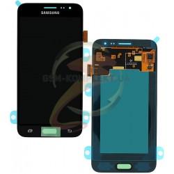 Дисплей для Samsung J320H/DS Galaxy J3 (2016), черный, с сенсорным экраном, original, #GH97-18414C