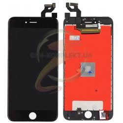 Дисплей iPhone 6S Plus, черный, с сенсорным экраном (дисплейный модуль),с рамкой, original (PRC)
