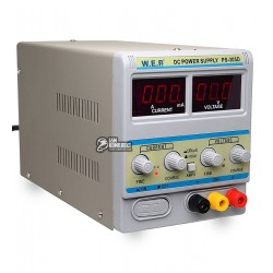 Лабораторный блок питания WEP PS-305D с переключателем Hi(A)/Lo(mA) 30V 5A цифровая индикация